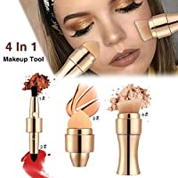多機能4で1化粧道具基礎眉アイライナー赤面パウダー化粧品ツールコンシーラープロの化粧ブラシキット美容 4 in 1 Makeup Tool Foundation Eyebrow Eyeliner Blush Powder Concealer Brush Kit