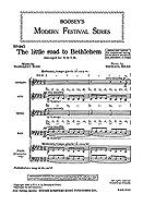 Michael Head: The Little Road To Bethlehem (SATB) / マイケル・ヘッド: ザ・リトル・ロード・トゥ・ベツレヘム 混声四部合唱 楽譜
