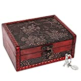 """SICOHOME Treasure Box, 5.46"""" Tarot Cards Box for Trinkets,Taro Cards,Gifts and Home Decor"""