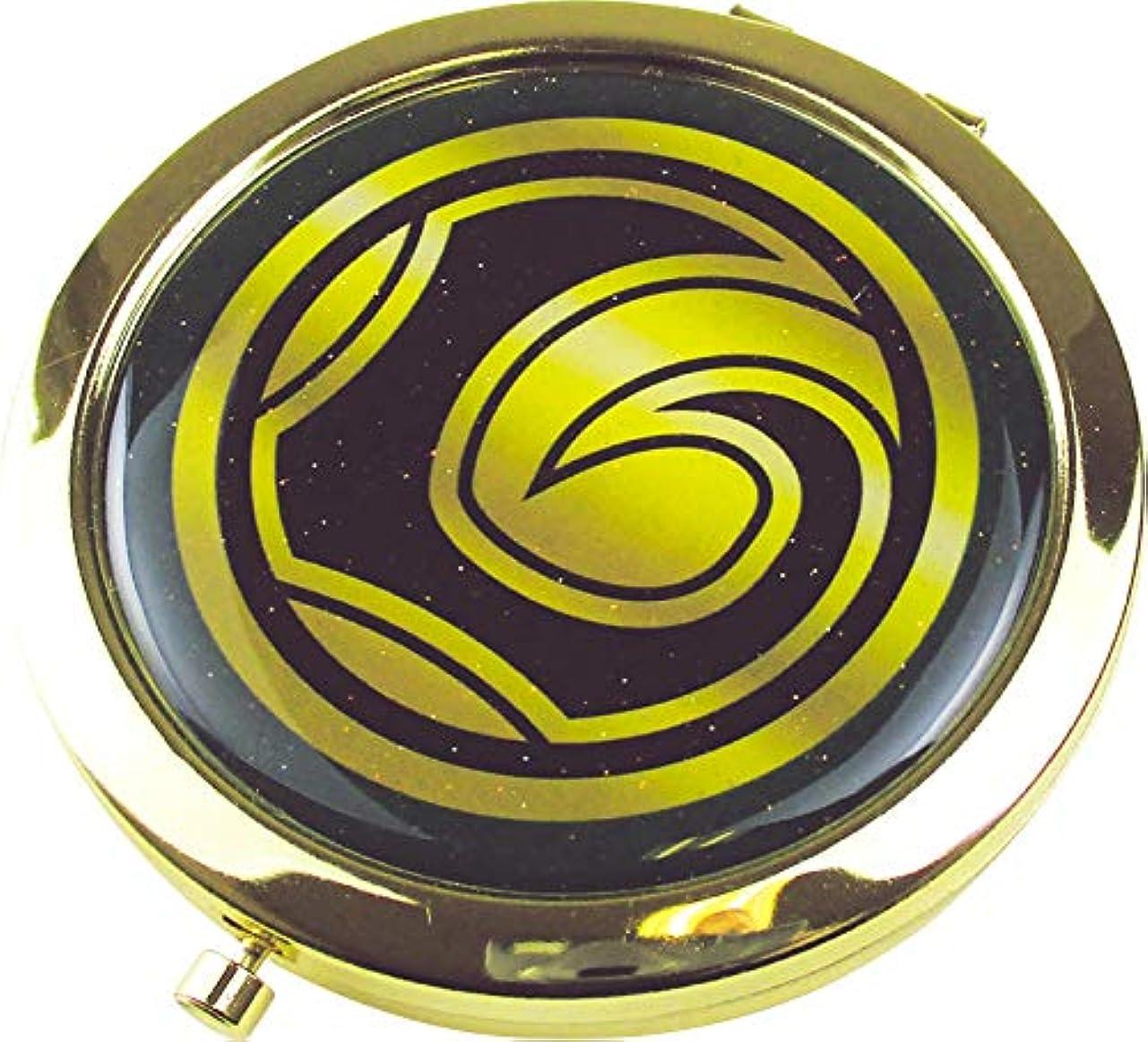 領事館マネージャーストレージティーズファクトリー ロキ 6.6×6.6×0.8cm マーベル Wコンパクトミラー MV-5537085LK