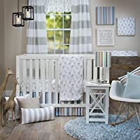 Glenna Jean Ollie & Jack 3Pc Crib Set (Includes Quilt Sheet Crib Skirt C [並行輸入品]