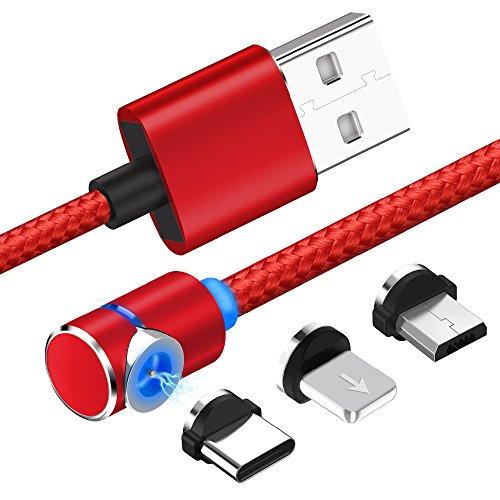 Lightning/Type-C/Micro USB 充電ケ...