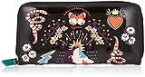 アディクト レディース 財布 スカジャン刺繍長財布 ブラック F168076-15