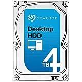 Seagate シーゲイト 内蔵ハードディスク Desktop HDD 4TB ( 3.5 インチ / SATA 6Gb/s / 5900rpm / 64MB / 2年保証 ) 正規輸入品 ST4000DM000