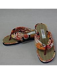 女カラーカリプソ(橙花)サイズ:24.0cm 女性用