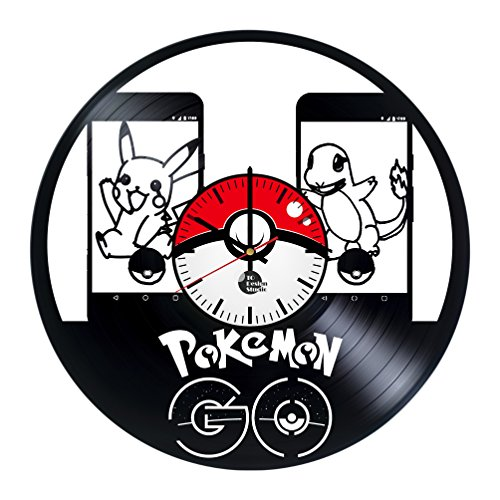 Pokemon Go Vinyl Record Wall C...