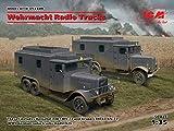 ICM 1/35 ドイツ国防軍 無線トラックセット プラモデル DS3509
