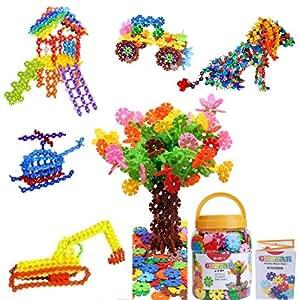 ジスター(GESTAR) 天才のはじまり 知育玩具 ブロック 2歳~7歳向け 動画説明書付属 500ピース+20枚増量中