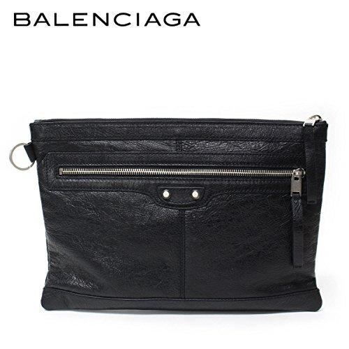 (バレンシアガ) BALENCIAGA クラッチバッグ CLIP M クリップM ブラック 273022 D9H04 1000 [並行輸入品]
