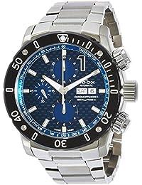 [エドックス]EDOX 腕時計 クロノオフショア1 自動巻きクロノグラフ 01122-3M-BUIN1 メンズ 【正規輸入品】