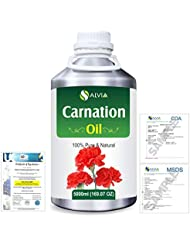 Carnation (Dianthus caryophyllus) 100% Natural Pure Essential Oil 5000ml/169fl.oz.
