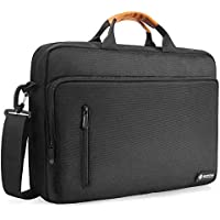 tomtoc Shoulder Bag, Messenger Bag Fits Up to 15.6 Inch Laptop, Protective Laptop Bag for 15 Inch MacBook Pro, MacBook Air, Dell XPS 15, Surface Book 2, Ultrabooks, Chromebook, Notebooks