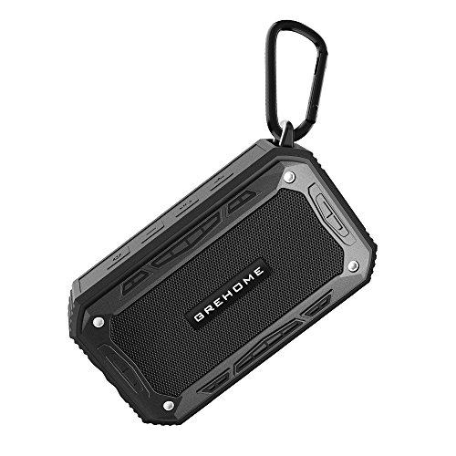 Grehome Bluetoothスピーカー ワイヤレススピーカー ステレオ スピーカー 音の歪みが低い 8時間連続再生 ポータブル アウトドア 大音量 高音質 低音効果良い 内蔵マイク搭載 ハンズフリー通話対応 ブルートゥース4.1 日本語取扱説明書付き