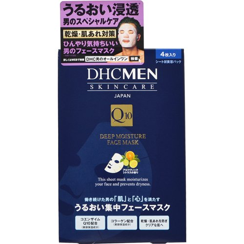 DHC MEN ディープモイスチュア フェースマスク 4枚入...