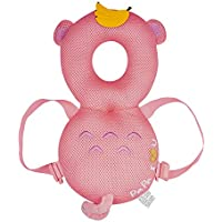 global I mall 可愛いリュック 赤ちゃんのごっつん防止やわらかリュック キッズ 乳幼児用 頭を保護できる 怪我防止 よちよち歩きの赤ちゃんにぴったり (サル(メッシュタイプ))
