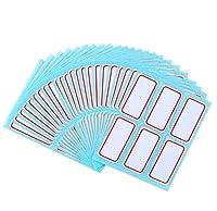"288 pcs File Folder Labels Self Sticking Multipurpose Rectangle Labels Name Label Bottle Cup Stickers1"" x 2.1"" [並行輸入品]"