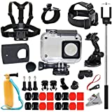 Deyard Y-05 Protective Waterproof HoUSing Case 35 In 1 Accessories Bundle For Xiaomi 4K/4K+/Yi Lite Action Camera 2
