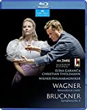 ブルックナー : 交響曲第4番, ワーグナー : 「ヴェーゼンドンク歌曲集」 / ウィーン・フィルハーモニー管弦楽団、クリスティアン・ティーレマン、エリーナ・ガランチャ (Bruckner : Sym.4, Wagner : Wesendonck Lieder / Christian Thielemann, Wiener Philharmoniker, Elīna Garanča) [Blu-ray] [Import] [Live] [日本語帯・解説付]