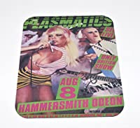 PLASMATICS Aug. 8th COMPUTER MOUSE PAD Wendy O Williams