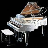 カワイ 新品グランドピアノ CR-40A(受注生産) クリスタル