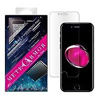iPhone 8/iPhone 7 液晶保護フィルム/絶対割れない/Moxbii 9H ガラス繊維×耐衝撃フィルム/キズに強い/気泡ゼロ/防指紋/ Metearmor背面保護フィルム1枚差し上げます! (iPhone 7/8)
