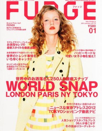 FUDGE (ファッジ) 2013年 01月号 [雑誌]の詳細を見る