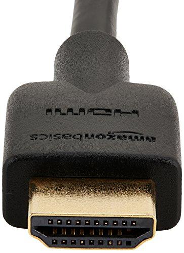 Amazonベーシック ハイスピードHDMIケーブル - 0.9m 2本セット(タイプAオス - タイプAオス/イーサネット/3D/4K/オーディオリターン/PS3/PS4/Xbox360対応)