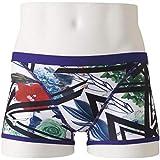 MIZUNO(ミズノ) 競泳水着 トレーニング 練習用 メンズ エクサースーツ ショートスパッツ N2MB957335 サイズ:XS グリーン