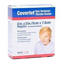 "Coverlet Eye Occlusor, Regular Size, 2"" X 3"" - 20 Ea"