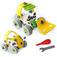 Educational Toy Truck take-a-part Building Block Toys withツールfor Kids