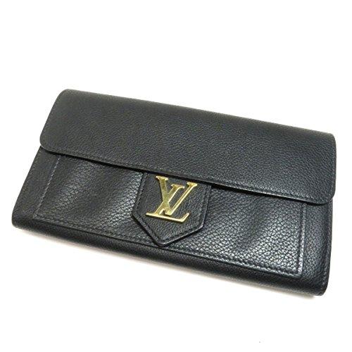 LOUIS VUITTON(ルイ・ヴィトン) ポルトフォイユ・ロックミー 長財布(小銭入れあり) レザー レディース (中古)