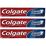 Colgate 空洞保護フッ化物の歯磨き粉、定期的なフレーバー、6.0オズ(3パック)
