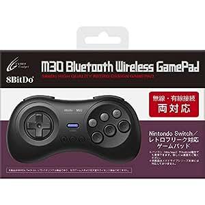 8BitDo M30 Bluetooth Wireless GamePad 【SWITCH(無線・有線)用コントローラー】 - Switch