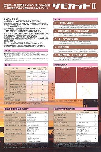 ロックペイント サビカットⅡ グレー 16kg 061-1541-16kg