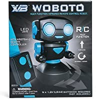 New Multi Function Remote Control Robot Black and Blue LED Lights Woboto USB powered robotics [並行輸入品]