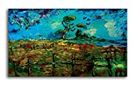Tamatina Canvas Painting - Beautiful Hill - Traditional Paintings.