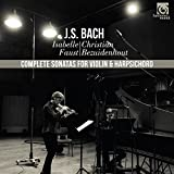J.S.バッハ : ヴァイオリン・ソナタ集 (J.S.Bach : Complete Sonatas for Violin & Harpsichord / Isabelle Faust   Christian Bezuidenhout) [2CD] [輸入盤] [日本語帯・解説付]