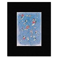 Wassily Kadinsky - Sky Blue 1940 Mini Poster - 40.5x30.5cm