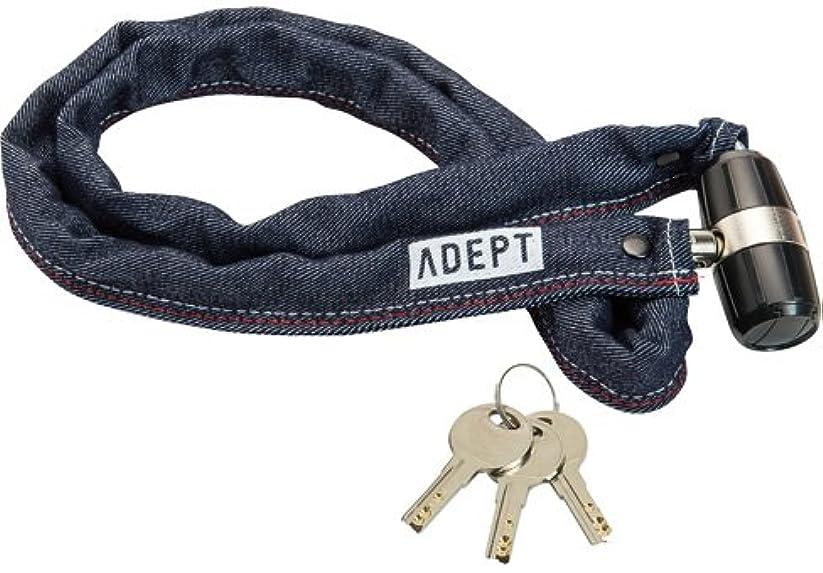 契約貫通する発表するLKW25804 ADEPT アデプト K311 チェーンロック デニム