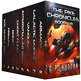 The Pike Chronicles Books 1-8 - A Space Opera Adventure by [Hudson, G.P.]