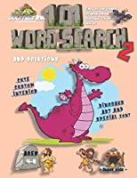 101 Word Search for Kids 2: SUPER KIDZ Book. Children - Ages 4-8 (US Edition). Cartoon Purple Dinosaur, Pink w custom art interior. 101 Puzzles with solutions - Easy to Hard Vocabulary Words -Unique challenges and learning for fun activity time! (Superkidz - Dino Word Search for Kids)