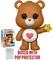 Funko Pop Animation: Care Bears - Tenderheart Bear Vinyl Figure (Bundled with Pop Box Protector Case)