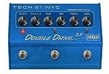 Tech 21Double Drive 3X ギター用エフェクター 3chプログラマブル・ オーバードライブ 【国内正規品】