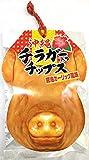チラガー入りチップス 醤油ガーリック風味 115g×2P 大藤 インパクト大のパッケージ 豚の顔の皮を使ったお菓子 沖縄土産におすすめの一品