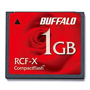 BUFFALO コンパクトフラッシュ 1GB RCF-X1GY