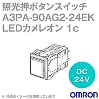 オムロン(OMRON) A3PA-90AG2-24EK 照光押ボタンスイッチA3Pシリーズ ( 角胴形・正方形・無分割) ( LEDカメレオン) ( モーメンタリ) NN