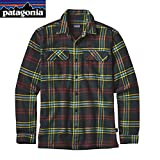 patagonia(パタゴニア) メンズ・ロングスリーブ・フィヨルド・フランネル・シャツ(アジア・フィット) Ms L/S Fjord Flannel Shirt - AF 54130 WWCN S