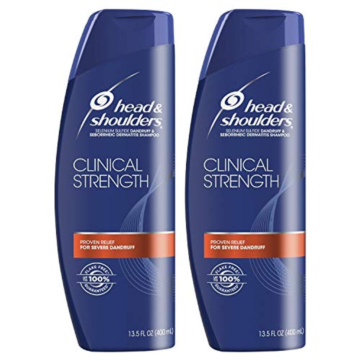 ニュージーランドカバー考えたHead and Shoulders Clinical Strength Dandruff and Seborrheic Dermatitisシャンプー、13.5 FL OZ
