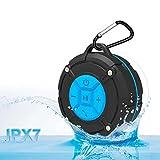 HENGSHENG Sport 防水Bluetoothスピーカー ワイヤレ 高音質 / 充電式 / 軽量 / マイク内蔵 / 通話可能 【IPX7 防水&防塵認証 / 内蔵マイク搭載 /吸盤式Bluetoothスピーカー 】