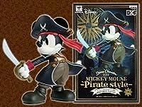 日本インポートBanpresto Dxf Mickey mouse-pirateスタイル- Pirates Mickeyマウス図ブラックコートと帽子Pirates